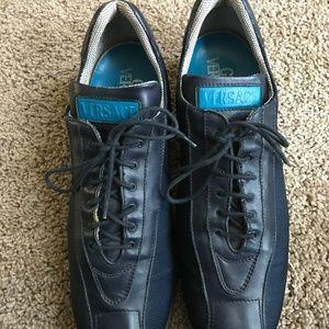 Gianni Versace Men's Blue Shoes